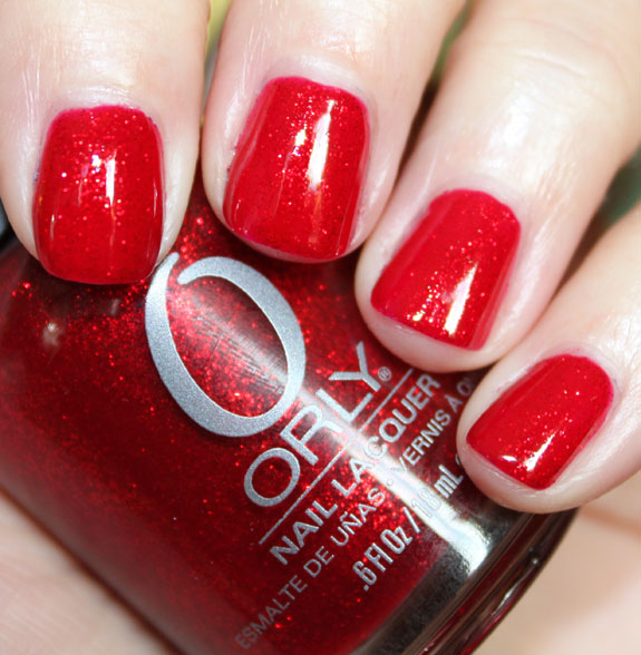 Orly Star Spangled, Free Shipping at Nail Polish Canada